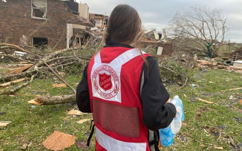 The Salvation Army In Nashville Deploys Team to Assist in Chattanooga Tornado Response