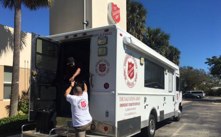 The Salvation Army Continues to Serve Following Tragic Parkland Shooting