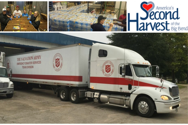 Second Harvest of the Big Bend Offers Key Resources to Salvation Army Relief