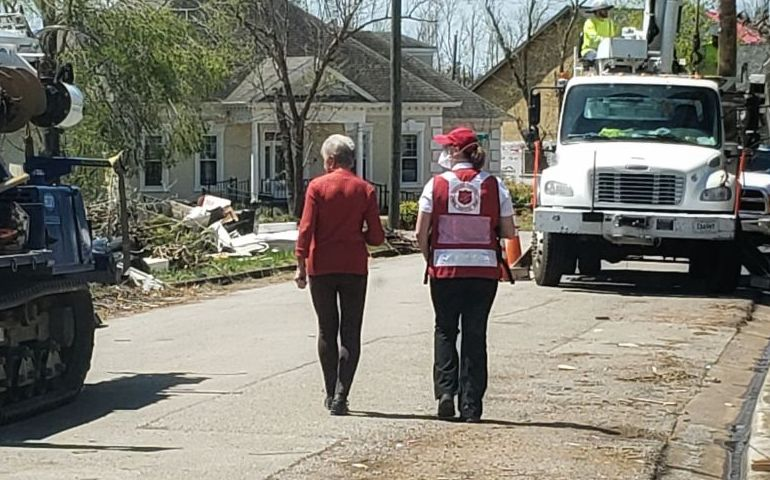 Day 10 of Tornado Relief Efforts: The Greater Chattanooga Salvation Army's Budget Gets Tighter as Services Expand