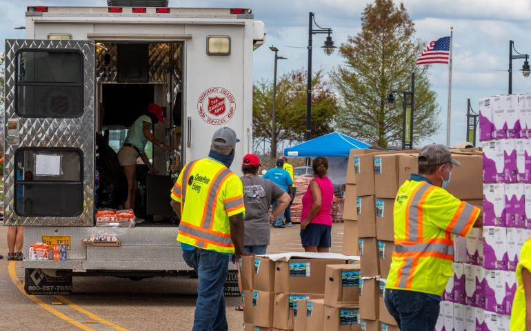 The Salvation Army Is Continuing to Prepare As Hurricane Delta Moves Toward Lousiana Landfall