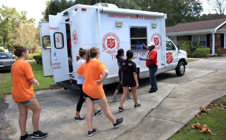 The Salvation Army A Shelter in the Storm for SC Community