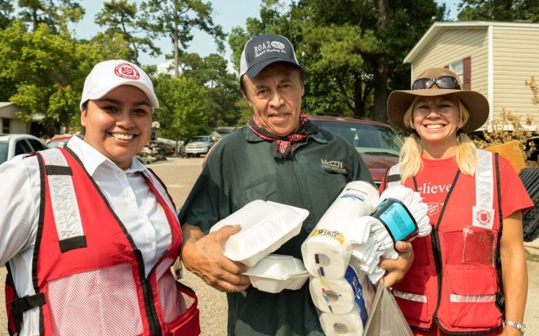 Salvation Army Continues to Serve Houston after Harvey