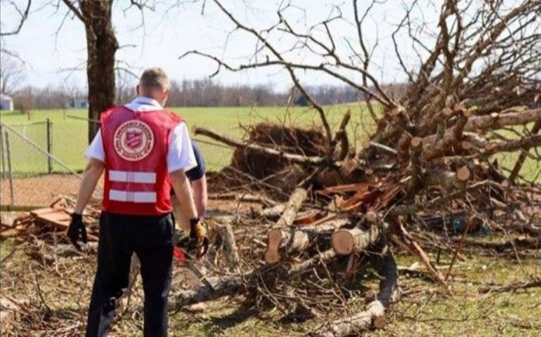 The Salvation Army Responds to Possible Tornado, Straight Line Winds in Portland, TN