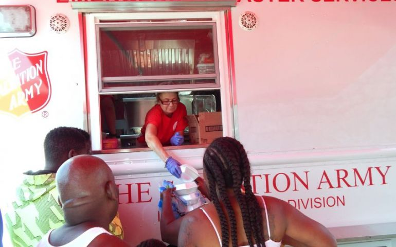 After Andrew... After Irma... The Salvation Army Serves in Homestead, FL
