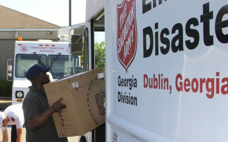 Salvation Army Staged for Deployment as Hurricane Irma Heads for Georgia
