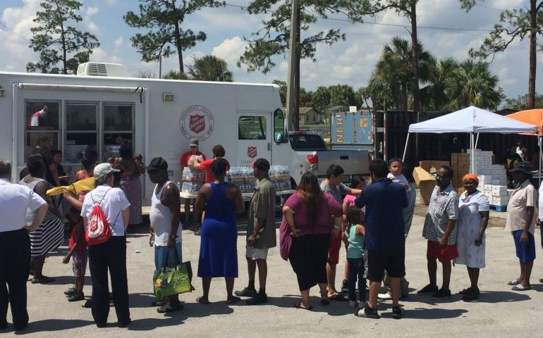 Salvation Army teams serve the ''least, last, lost'' in Migrant Community