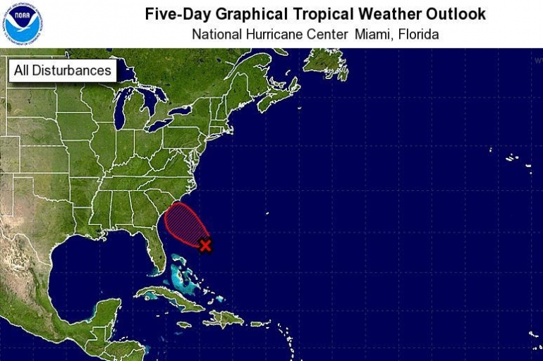 The Salvation Army of the Carolinas Monitoring Disturbance in the Atlantic