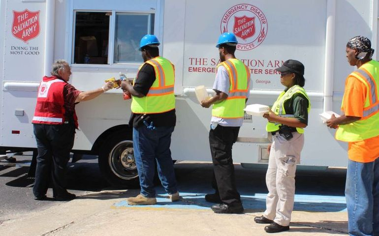 The Salvation Army Continues Service at Savannah Plane Crash Site