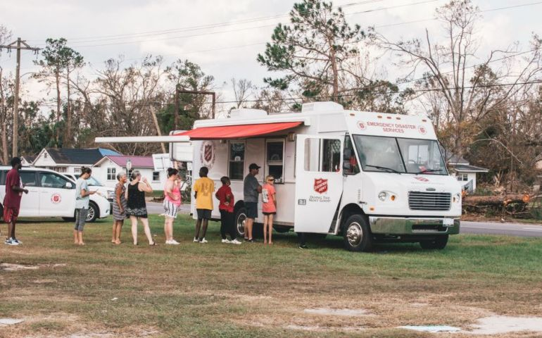 Salvation Army Personnel from Across U.S. Serving Hurricane Michael Survivors