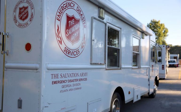 Georgia Salvation Army Team Deploys to Victoria TX for Hurricane Harvey