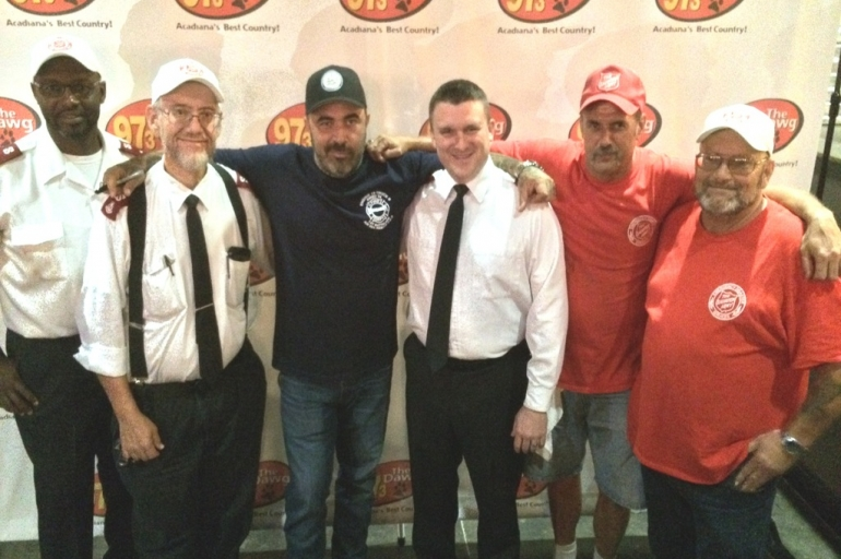 Country Music Star Aaron Lewis Performs for The Salvation Army of Lafayette