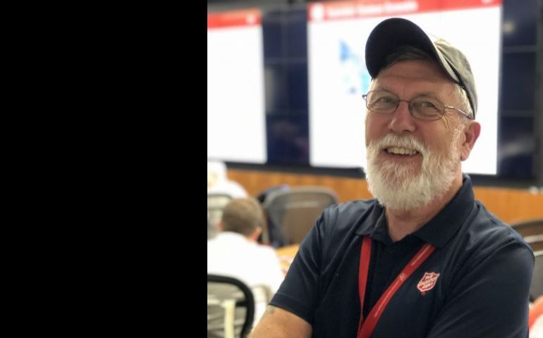 Longtime Salvation Army Volunteer, Rick Reinhardsen, is Prepared to Weather the Storm