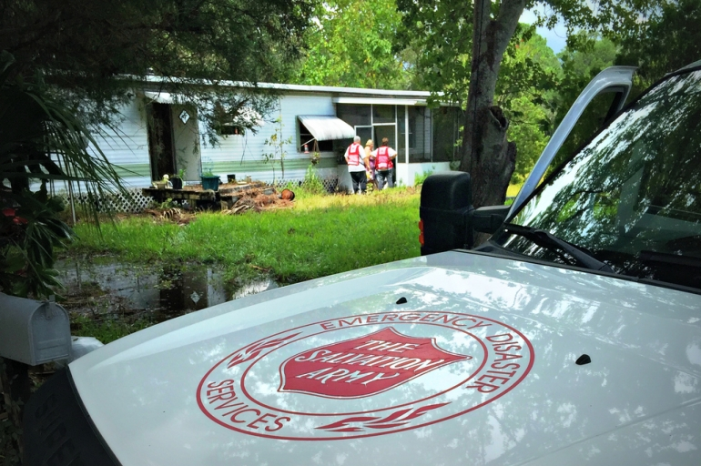 Daily Meals Served by Salvation Army Increases as Recovery Efforts Continue