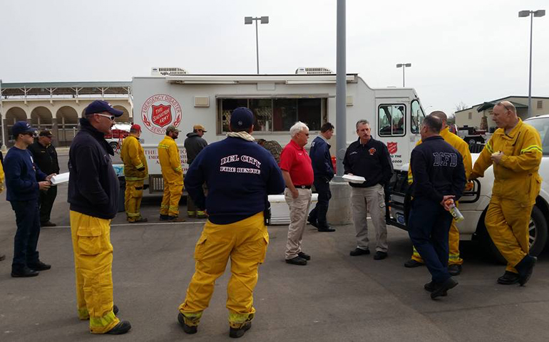 Multiple Units Aid Northwestern Oklahoma Wildfire Responders