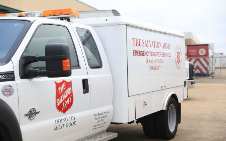 The Salvation Army Prepares for Hurricane Delta Ahead of Landfall