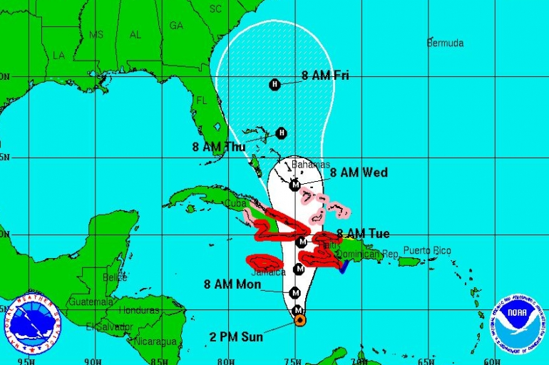 SATERN And Amateur Radio Partners Respond To Threat of Hurricane Matthew