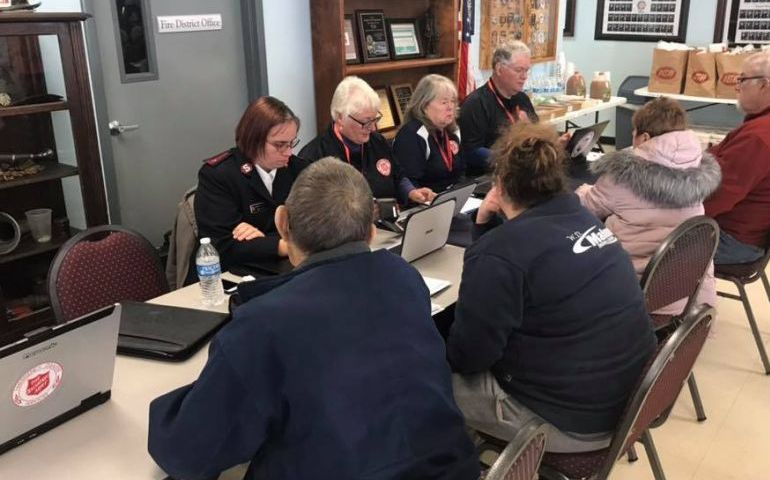 Empire State Division EDS Serves at Series of Multi-Agency Resource Center in Response to Halloween Floods