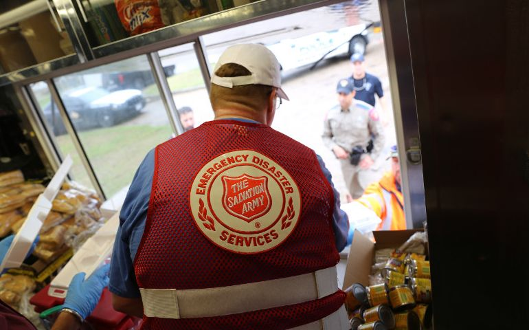 Salvation Army Mobile Kitchens Deliver a Hot Meal and Hope in Texas