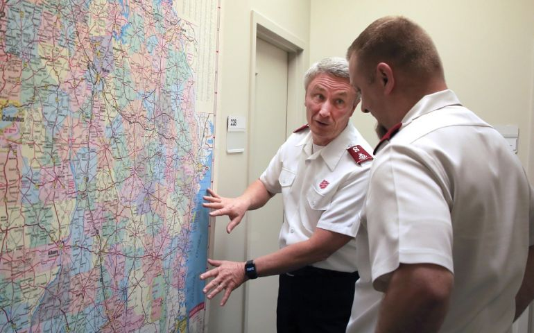 The Salvation Army of Georgia Readies Ahead of Hurricane Isaias