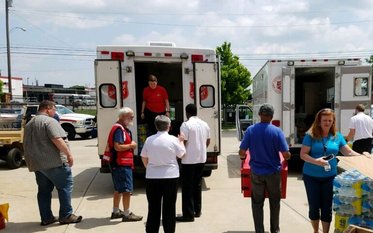 Salvation Army On the Ground and Serving in Dayton, Ohio After EF3 Tornado