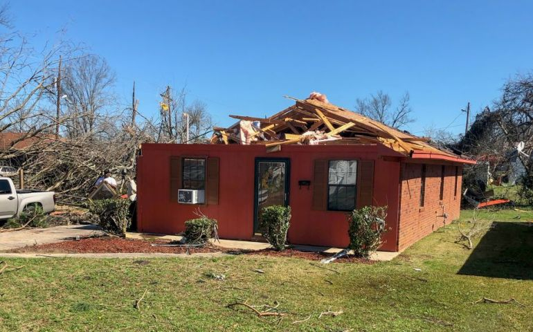 The Salvation Army Serves After Tornado Strikes Columbus, MS