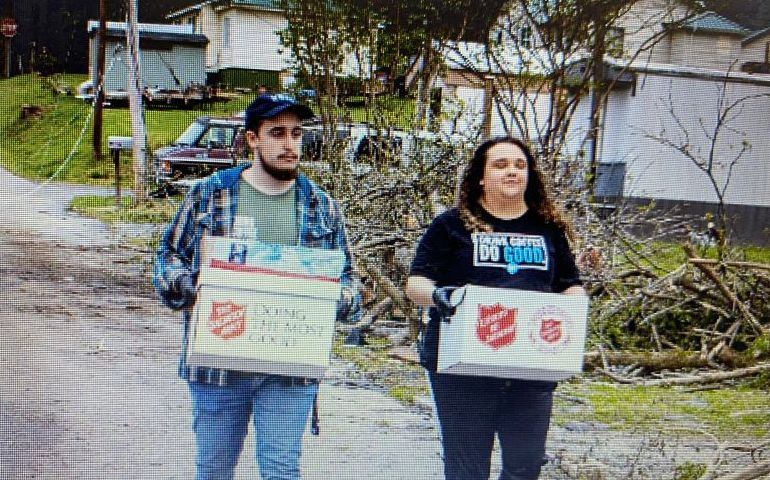 The Salvation Army of Greater Chattanooga plans on serving over 2500 neighbors on Day 3 of Tornado Relief