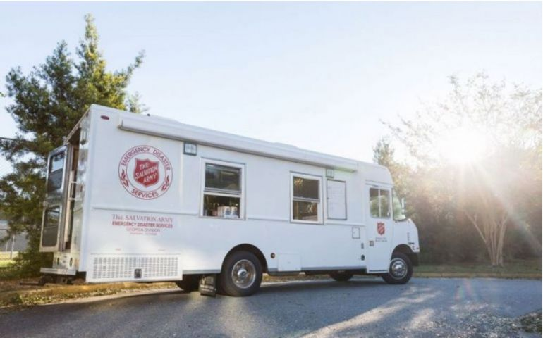 Salvation Army of Georgia Readies for Hurricane Zeta Inland Impact
