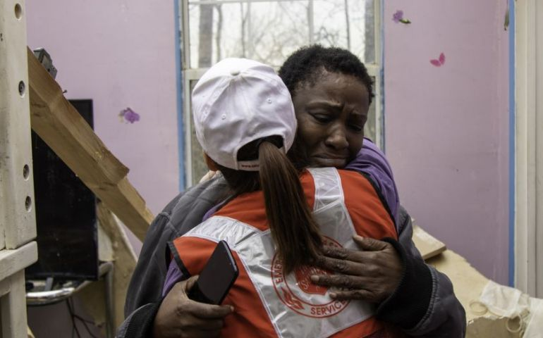 Providing Hope Amongst the Rubble in Tennessee