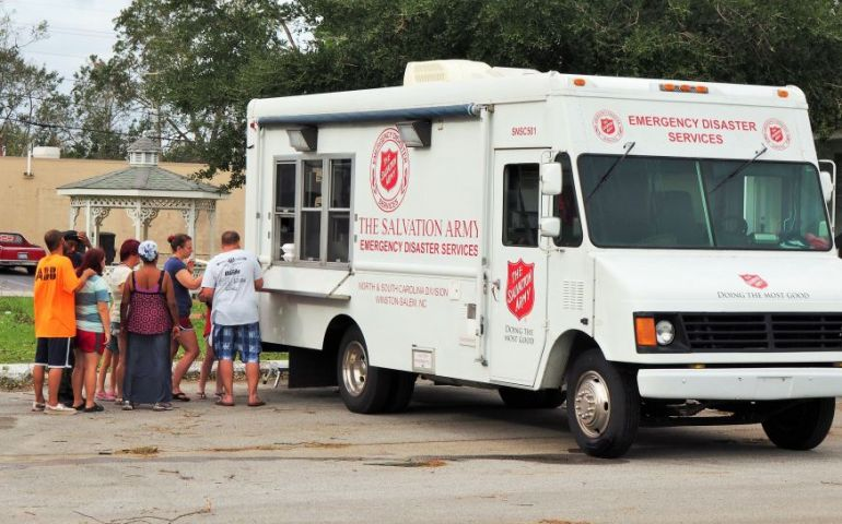 The Salvation Army Meeting Needs in Close-Knit Community