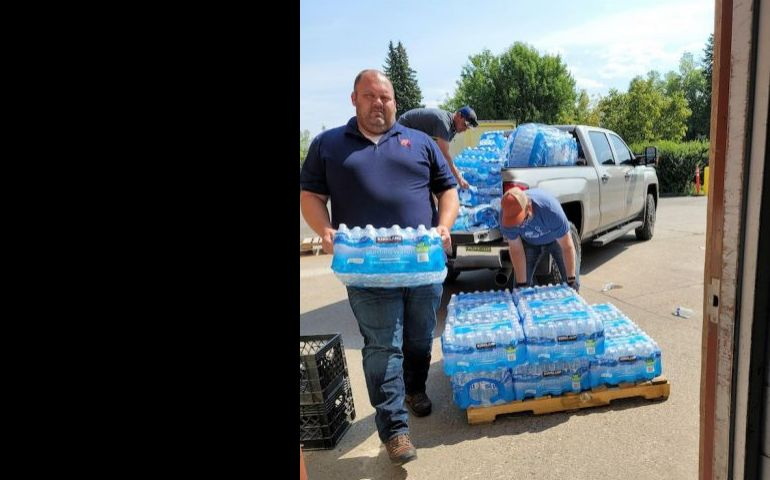 Salvation Army supports Bridger Peaks Fire First Responders