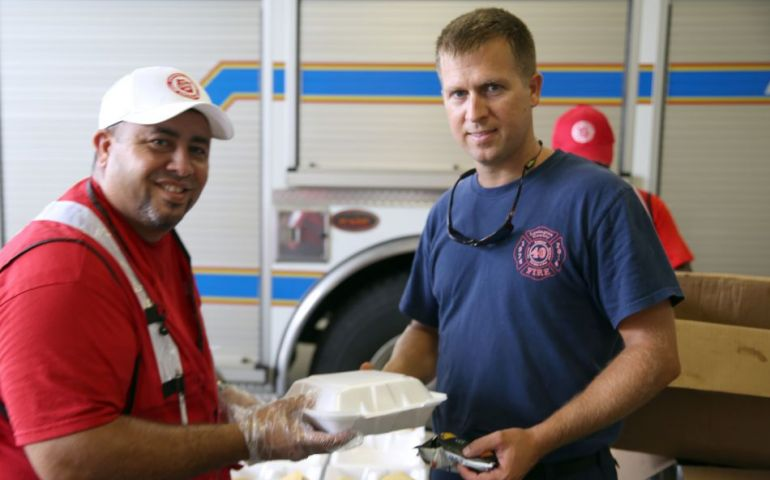 The Salvation Army Aids First Responders in Conway SC
