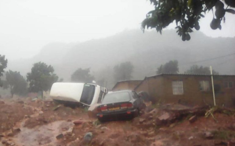Southeastern Africa devastated by tropical cyclone