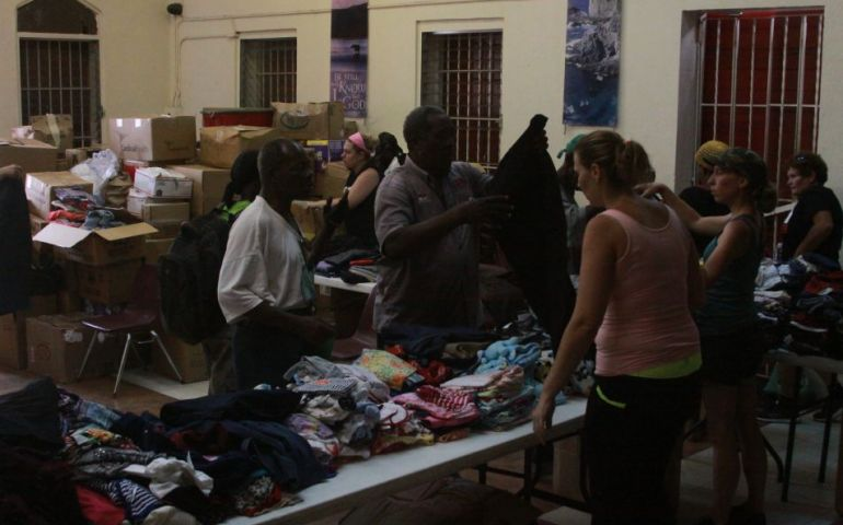 In U.S. Virgin Islands, Salvation Army Provides Free Clothing to the Needy