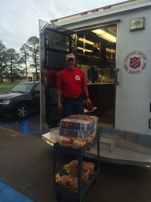 The Salvation Army increasing presence and supplies in areas impacted by flood waters