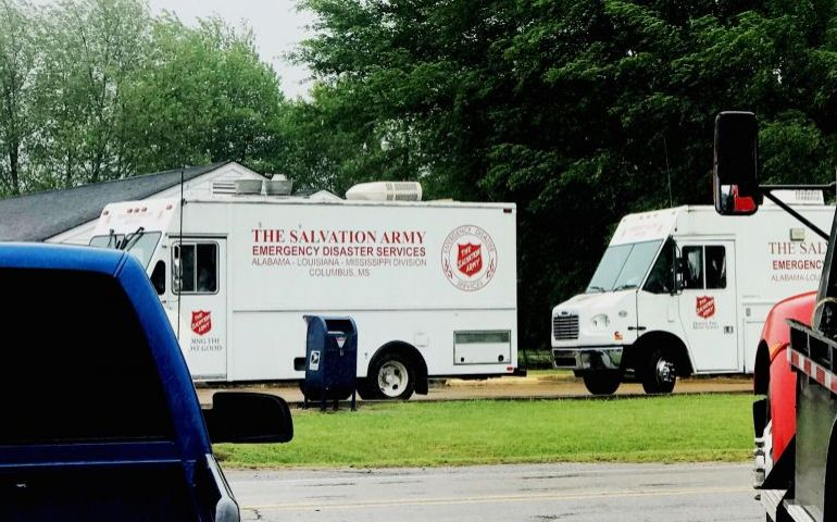 The Salvation Army ALM Division's Response to Weekend Tornadoes