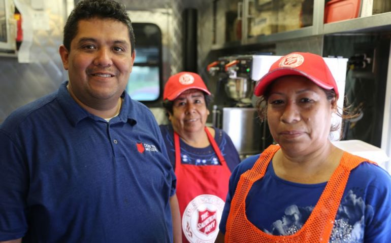 The Salvation Army Pays Tribute to Harvey Volunteers and Corporate Partners