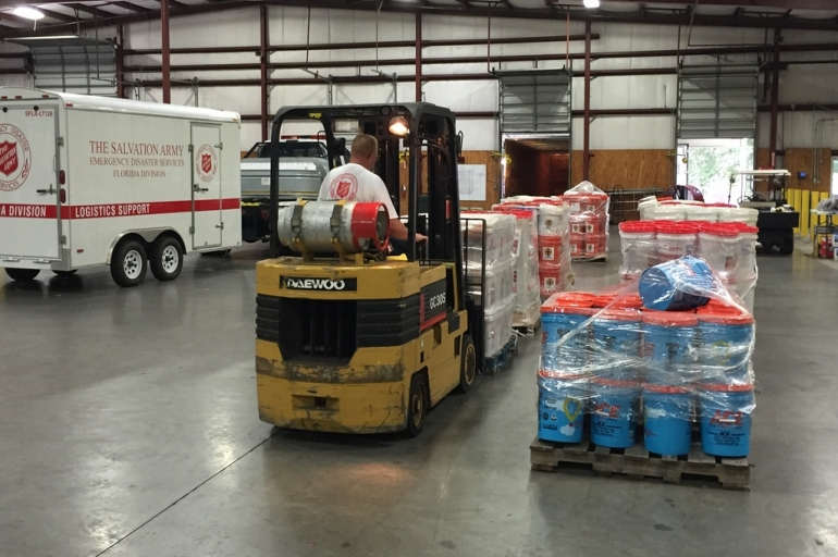 The Salvation Army Preparing for Response to Tropical Storm Hermine