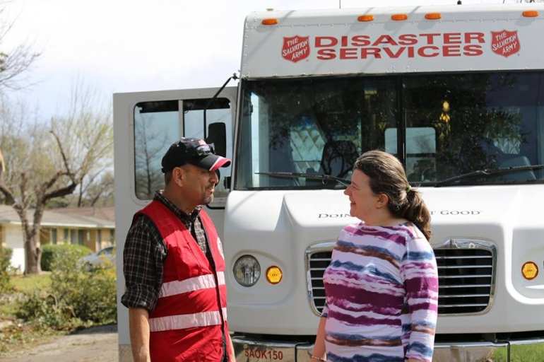 San Antonio Storm Prompts Salvation Army Response