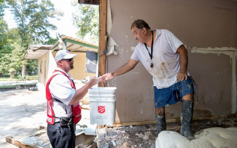 The Salvation Army - Delivering Hope to Those in Crisis After Hurricane Harvey