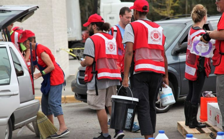 Salvation Army Providing Much-Needed Supplies to Aid Florence Recovery