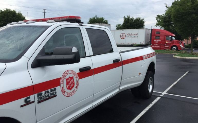Relations Matter as The Salvation Army Opens Tornado Resource Center in Dayton Ohio