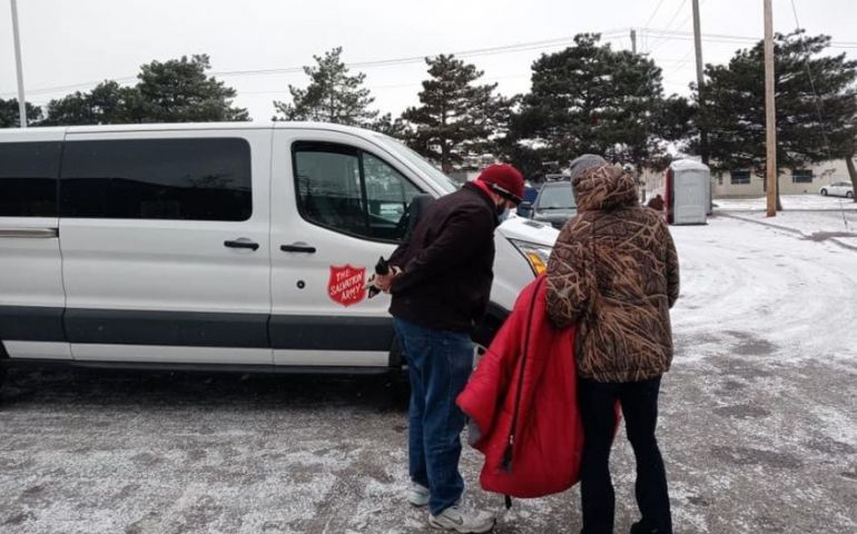 Arkansas-Oklahoma Salvation Army Locations Provide Refuge During Winter Storm