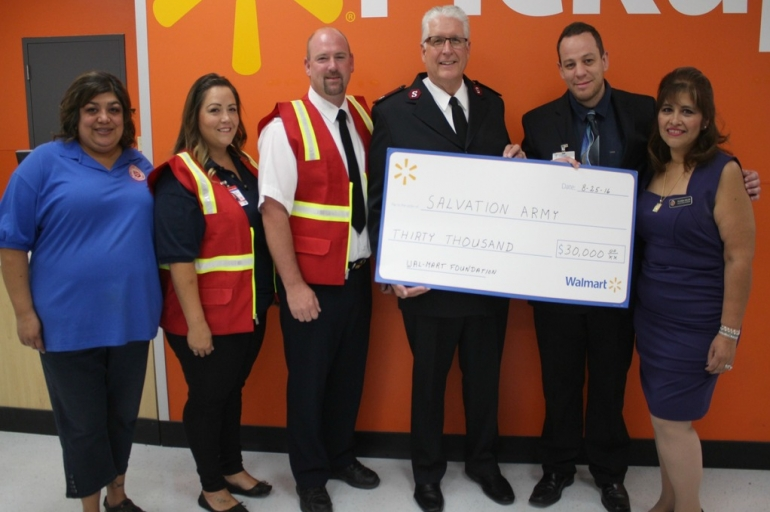 Walmart Foundation donates $30,000 for the Clayton Fire Recovery