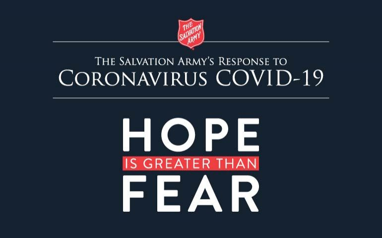 The Salvation Army's Response to the COVID-19 Pandemic is Ongoing