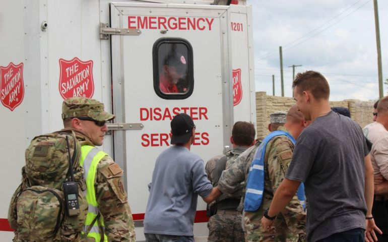 Patriot Military Personnel Utilize Salvation Army Volunteers in Training Exercises