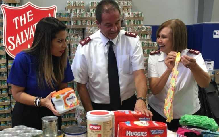 The Salvation Army Gives Thanks to The Walmart Foundation's Generosity