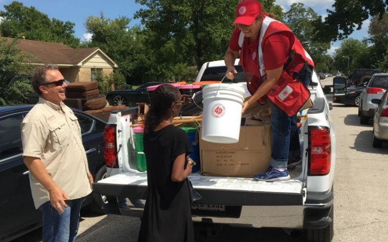 Salvation Army Service Delivery Begins in Southeast Texas After Flooding
