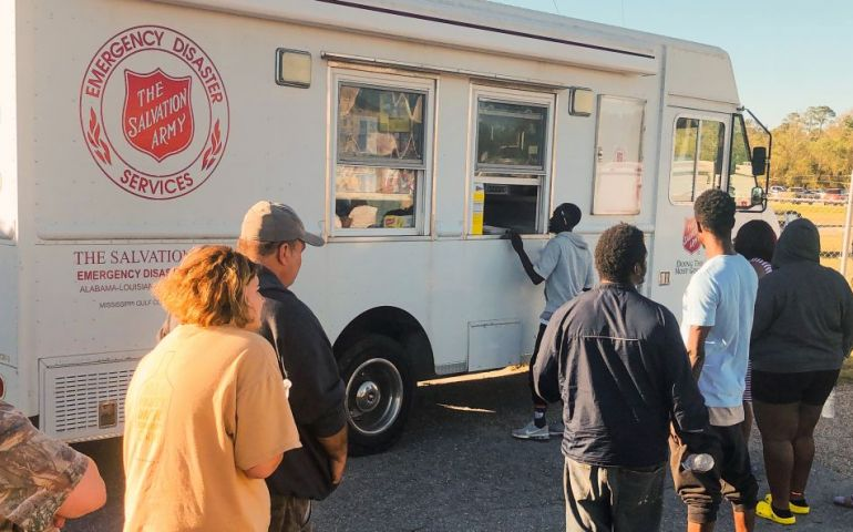 Salvation Army Continuing Zeta Relief Efforts Along Gulf Coast
