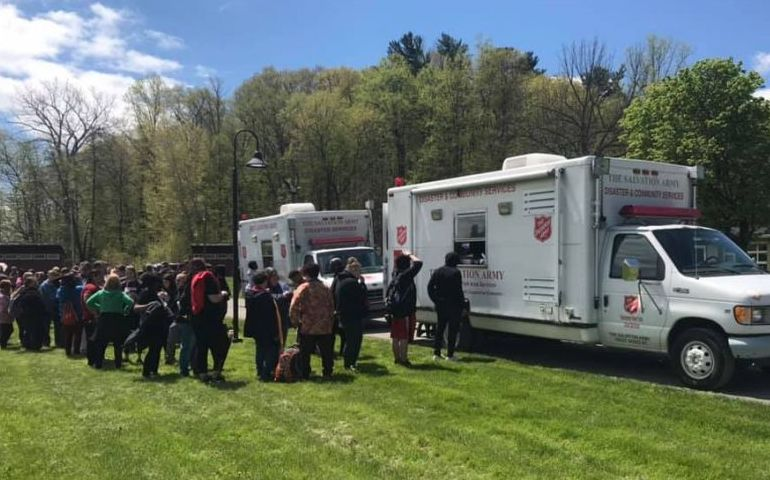 Empire State Division EDS Holds Full Scale Mass Care Exercise